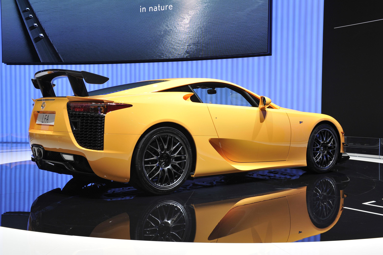 Lexus lfa nurburgring package geneva