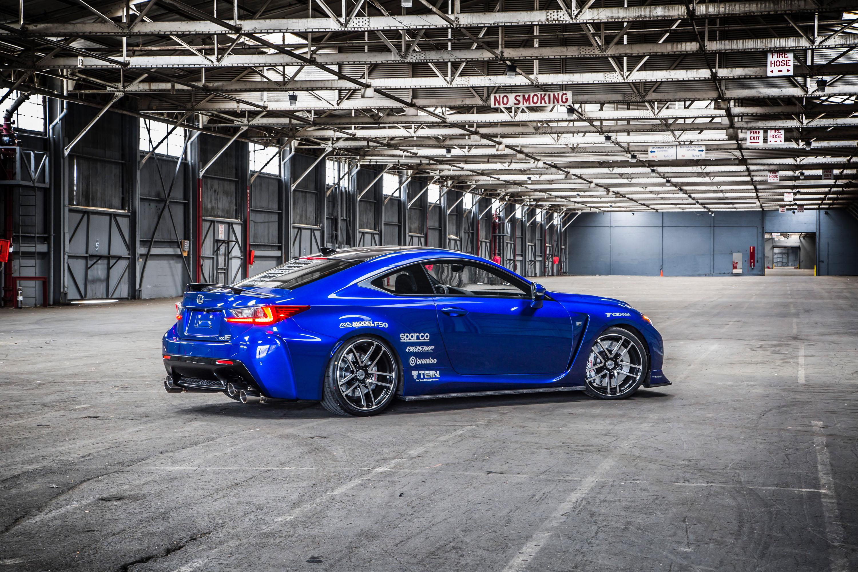 Lexus Shows Two Custom 2015 Rc F Studs At Sema