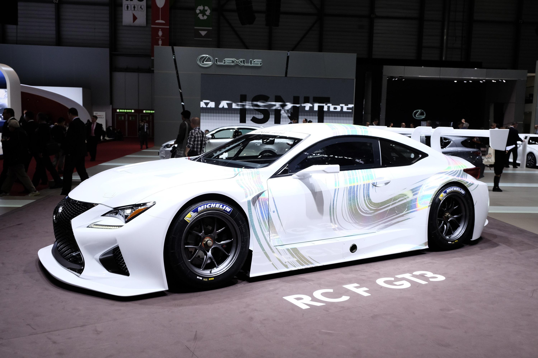 Lexus Rcf Gt3 Geneva 2014 Picture 99190