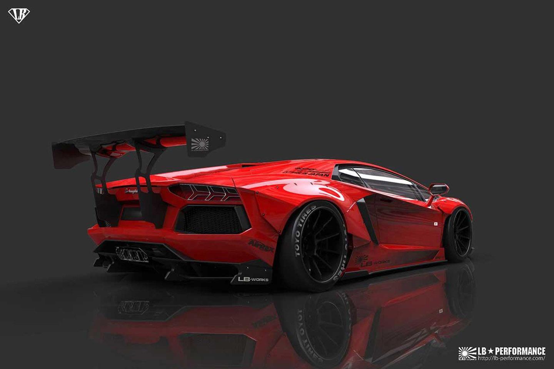 Liberty Walk Lamborghini Aventador Lp700 4