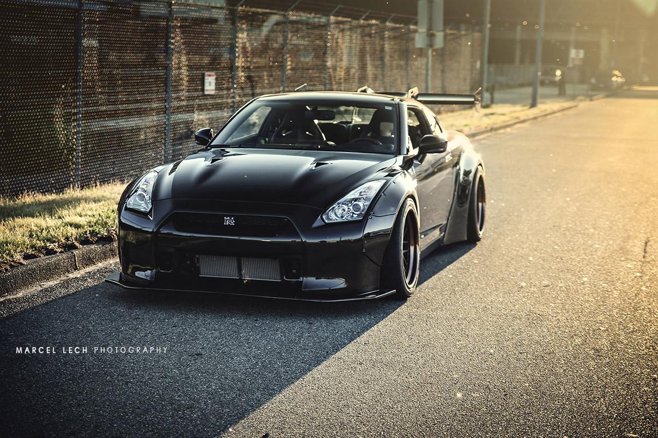 First Liberty Walk Nissan GTR In Vancouver