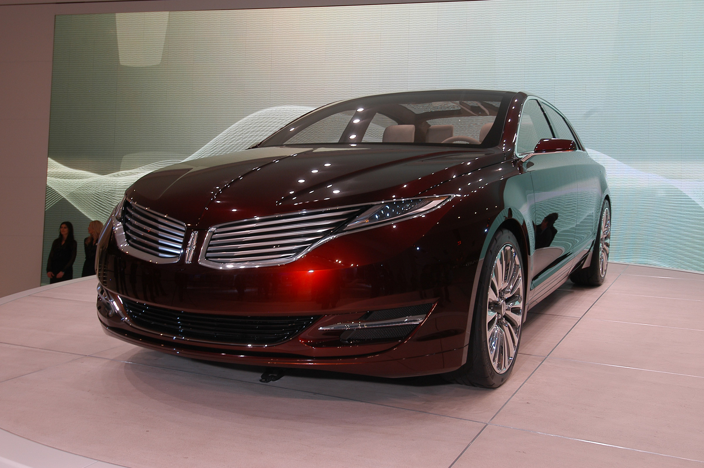 lincoln mkz concept debuts at naias. Black Bedroom Furniture Sets. Home Design Ideas