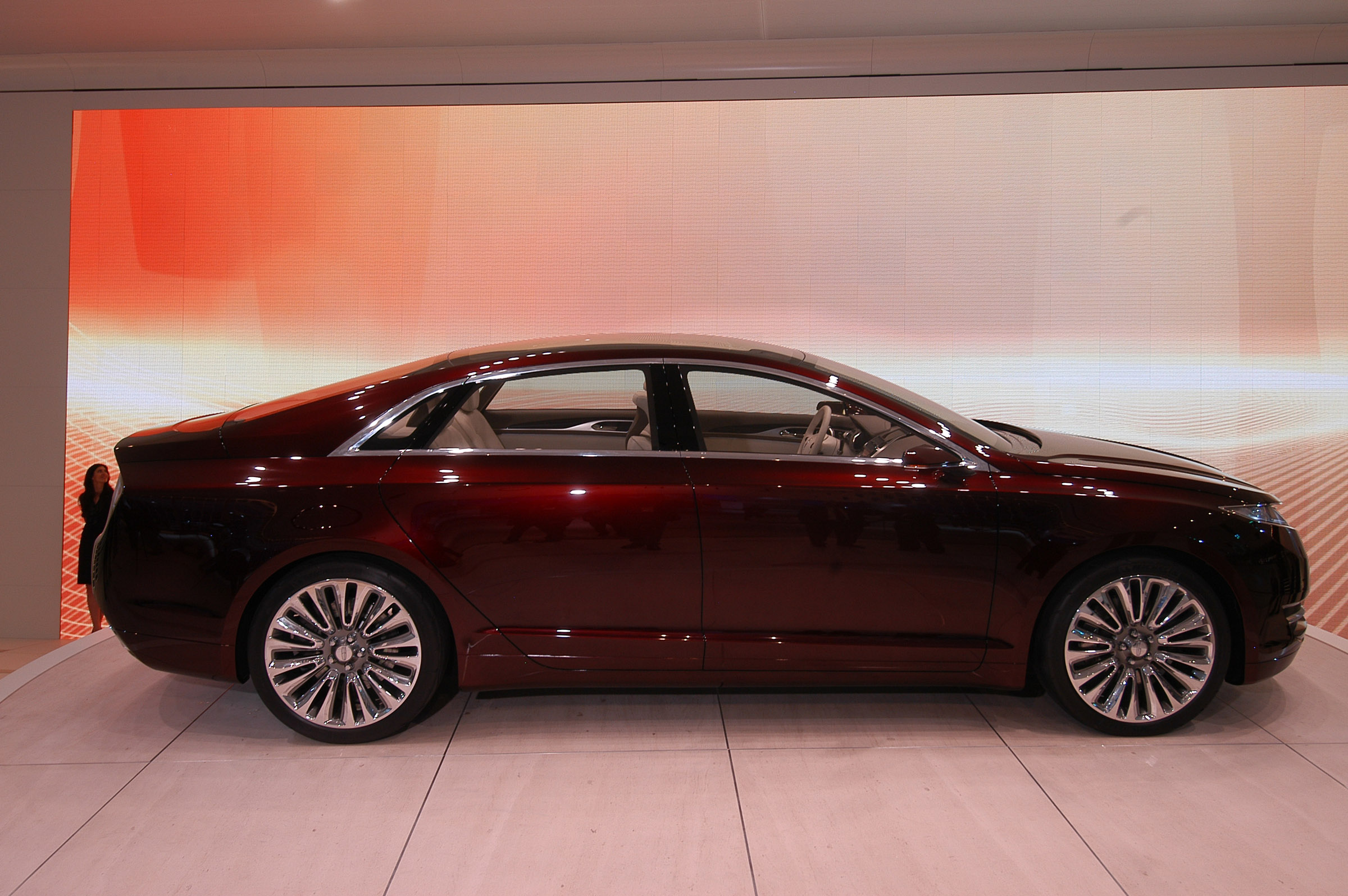 Lincoln Mkz Concept Detroit 2012 Picture 63360
