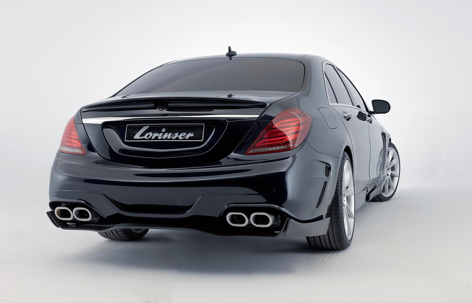 Lorinser 2013 mercedes benz s class 530hp and 800nm for 2013 mercedes benz s class