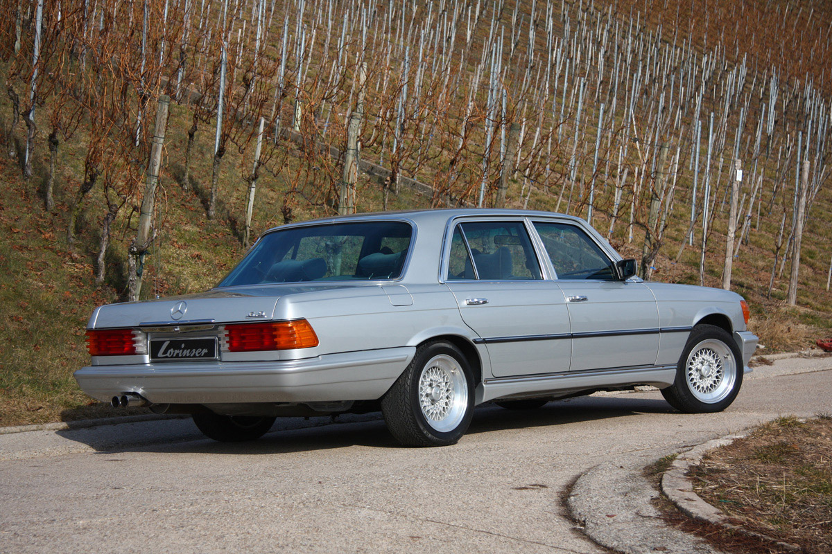 Lorinser sell tuned 450 sel 6 9 w116 for Mercedes benz 450 sel 6 9