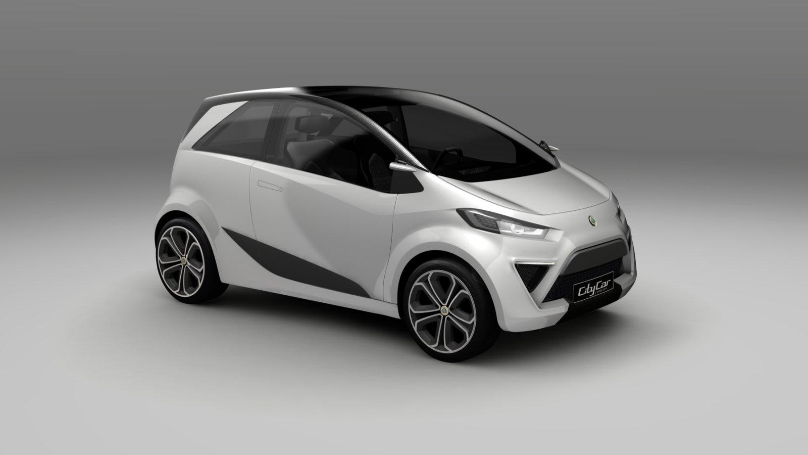 lotus city car concept small and practical. Black Bedroom Furniture Sets. Home Design Ideas