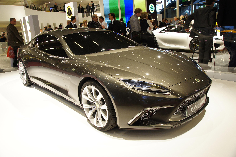 Lotus Eterne At The Motor Show In Paris