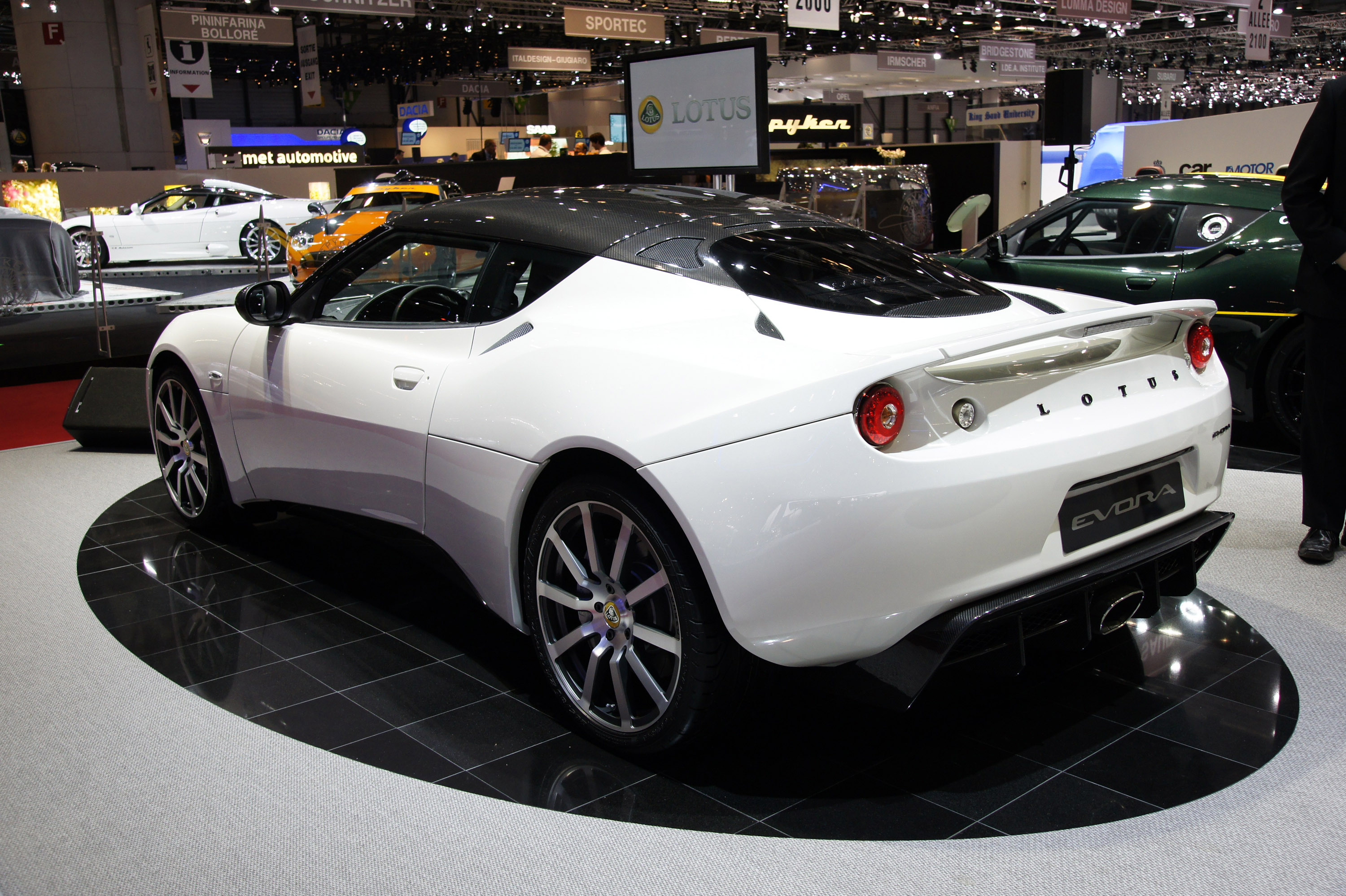 Lotus Evora Carbon Concept Officially Showcased