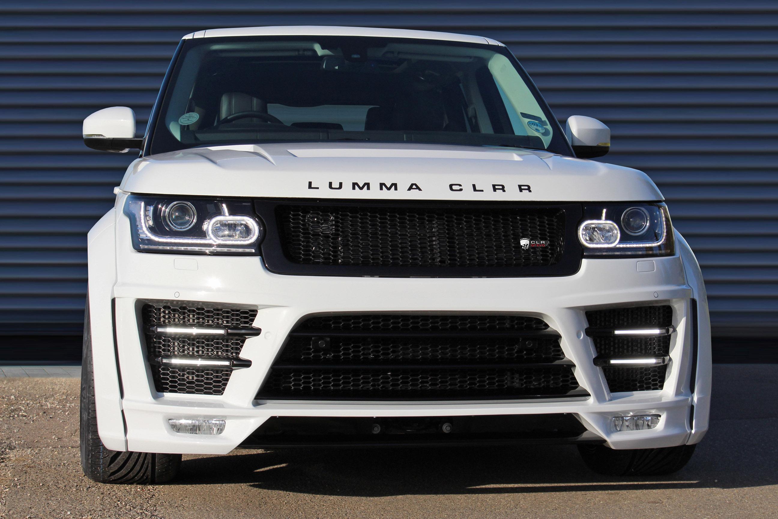 Lumma Design Gt Evo Styling Kit For The Range Rover Clr R