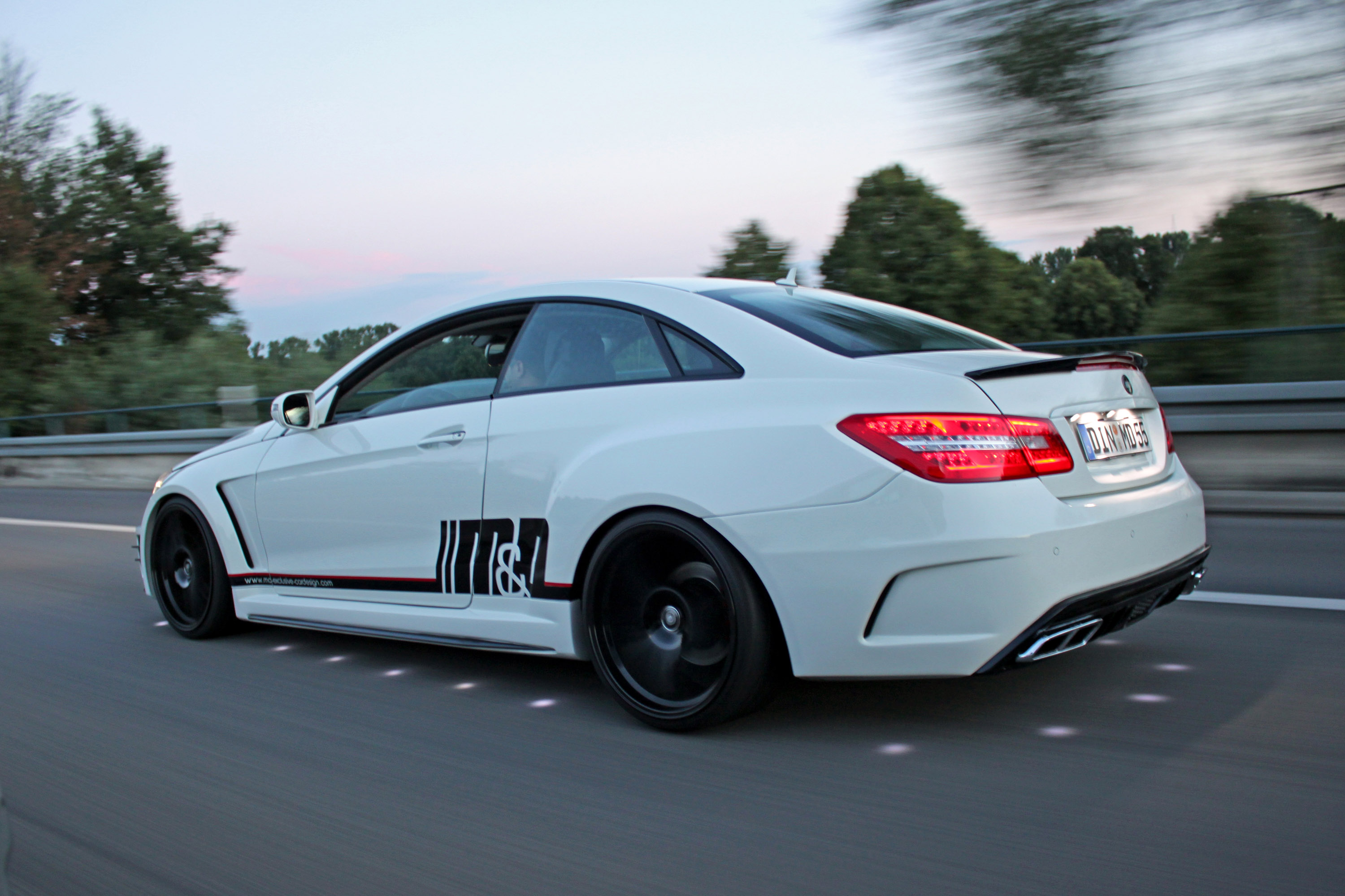 M d exclusive cardesign transforms mercedes benz e500 coupe for High performance parts for mercedes benz
