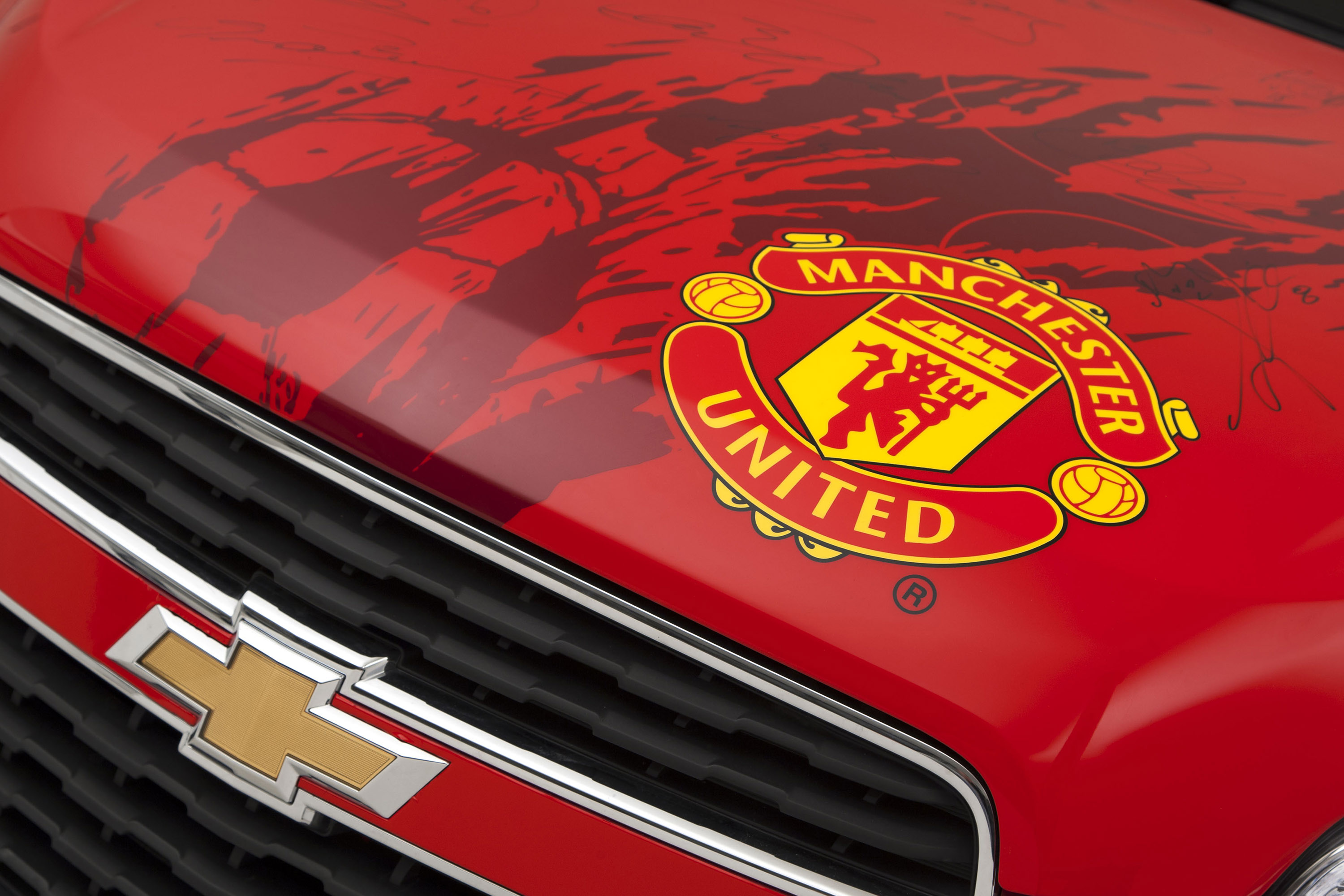 Manchester United Themed Chevrolet Trax Auction