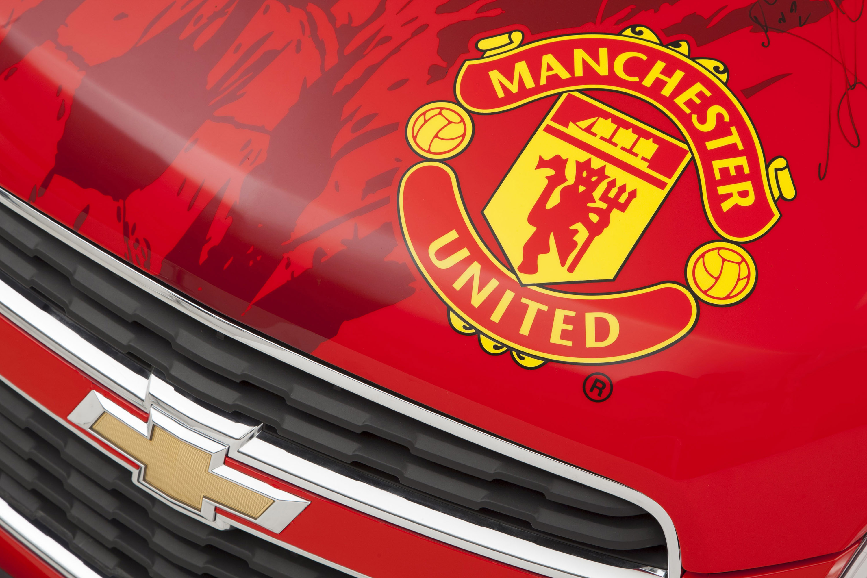 Manchester United Chevrolet Trax Picture 90698