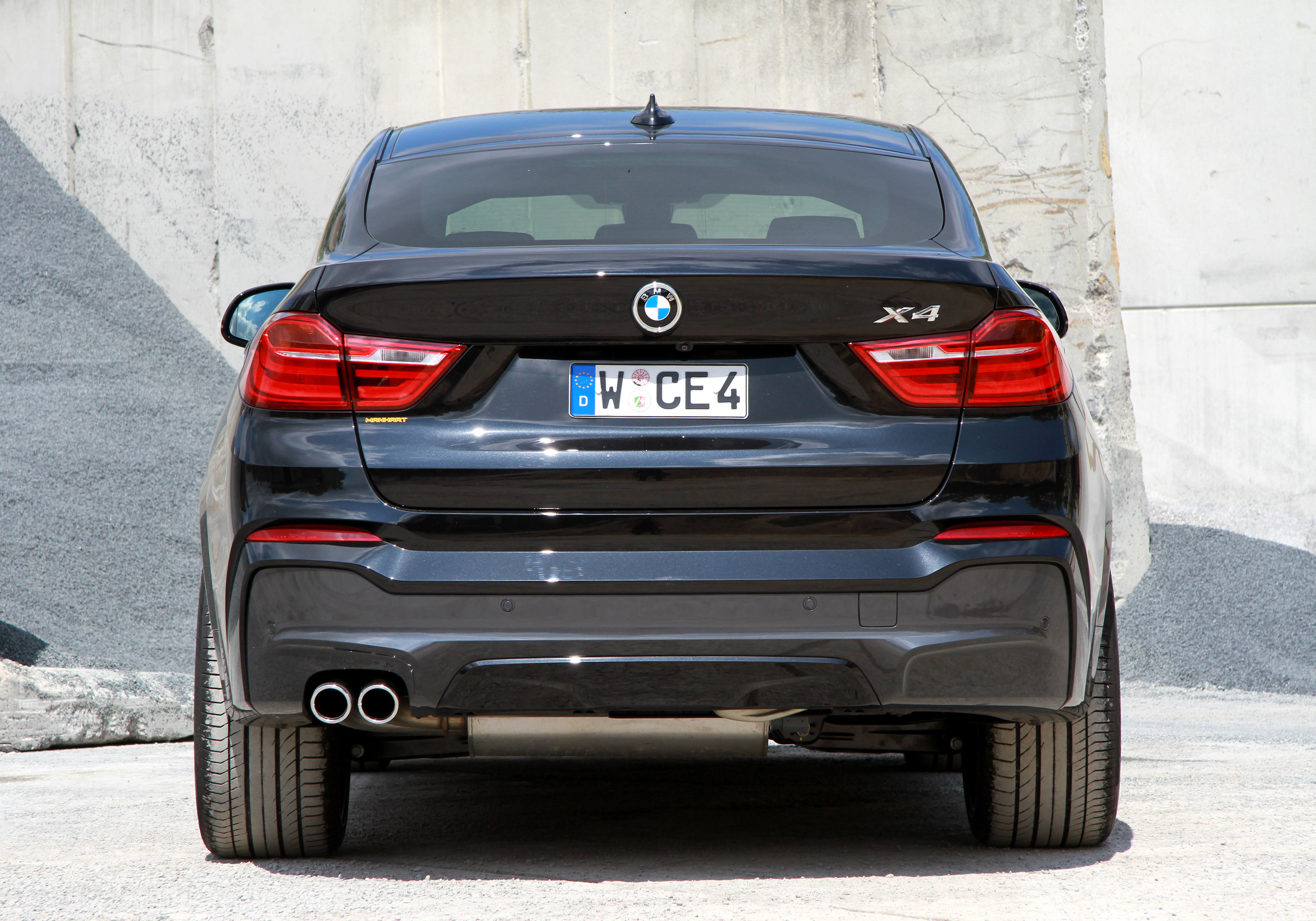 Manhart Racing Bmw X4 F26 375hp And 740nm