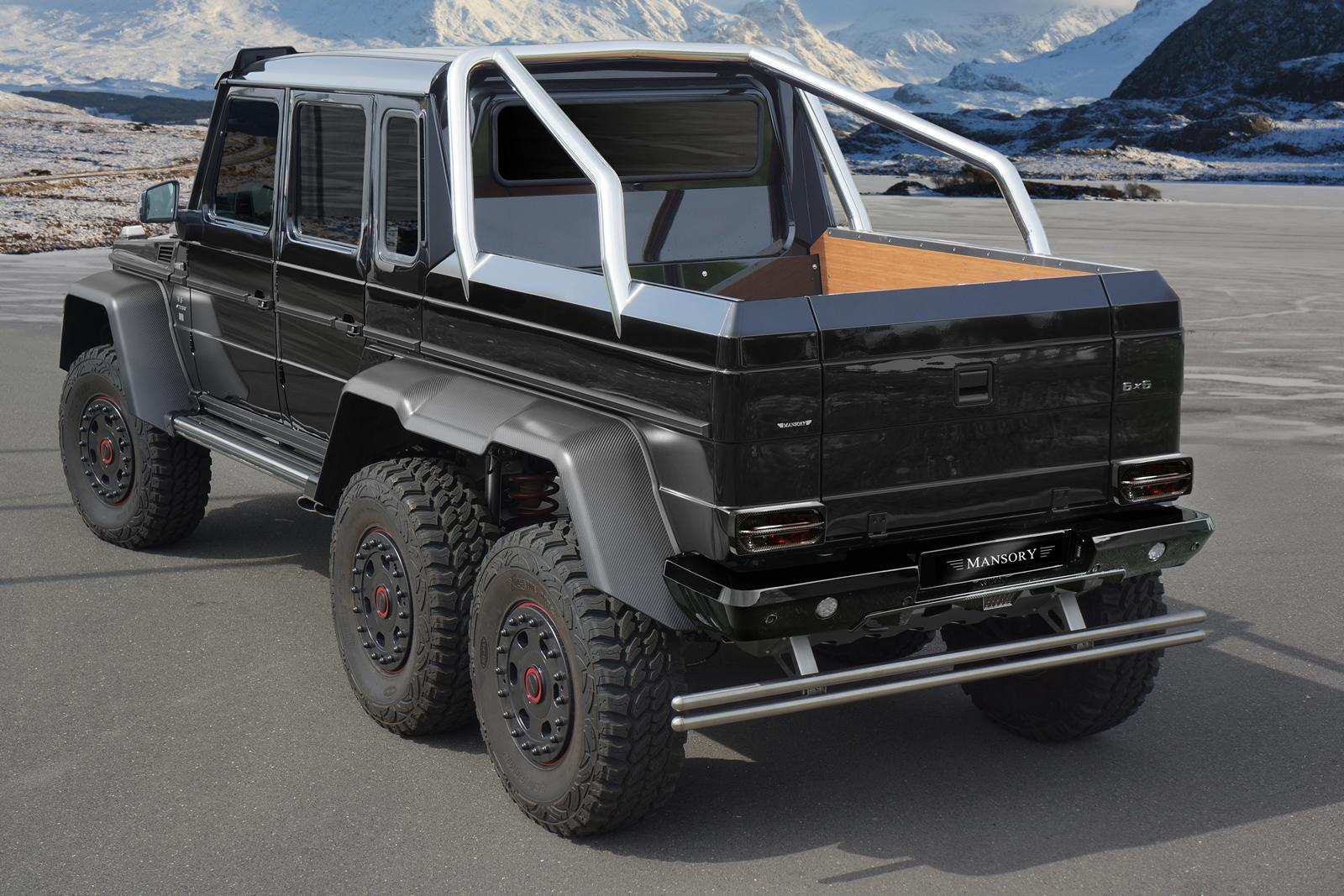 mansory mercedes benz g63 amg 6x6. Black Bedroom Furniture Sets. Home Design Ideas