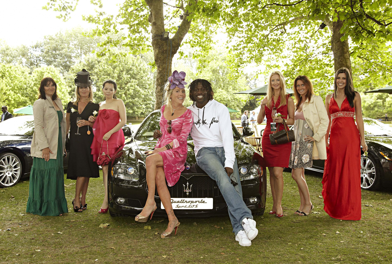 Maserati At Salon Prive Ladies Day Picture 23472