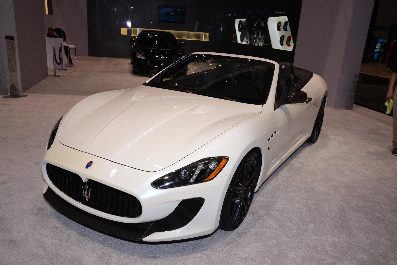 Maserati GranTurismo Convertible MC Chicago 2014 - Picture ...
