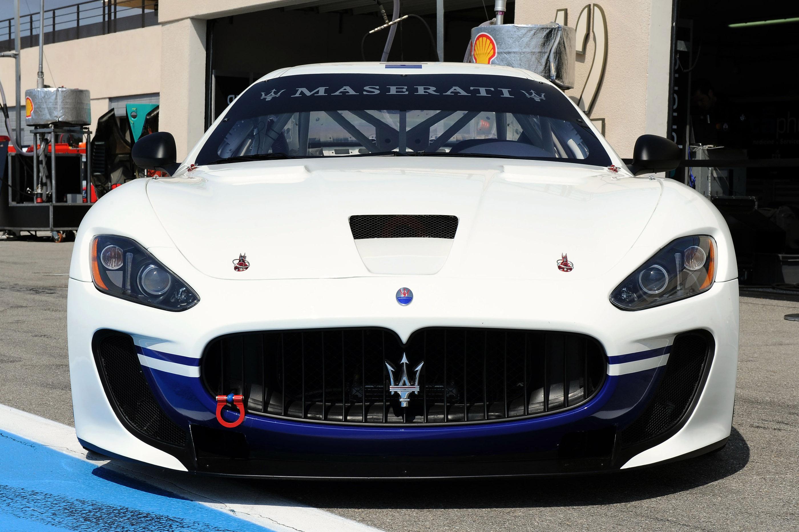 Maserati GranTurismo MC Track Debut