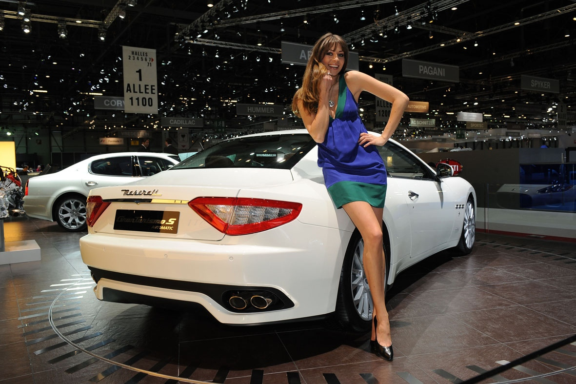 Maserati Granturismo S Automatic Unveiled At The Geneva