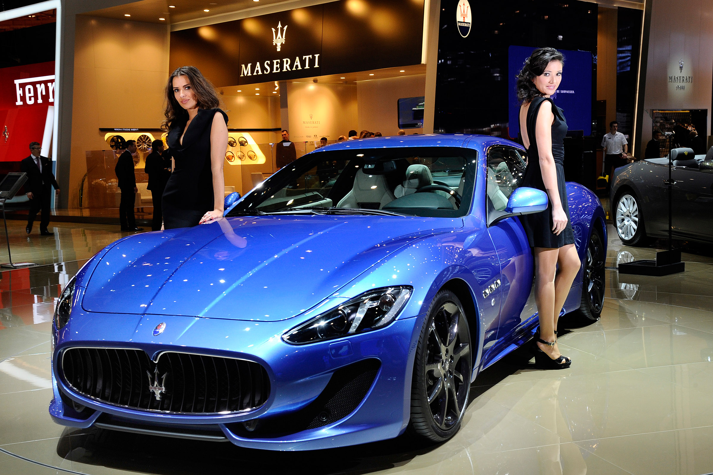2012 geneva motor show maserati granturismo sport. Black Bedroom Furniture Sets. Home Design Ideas