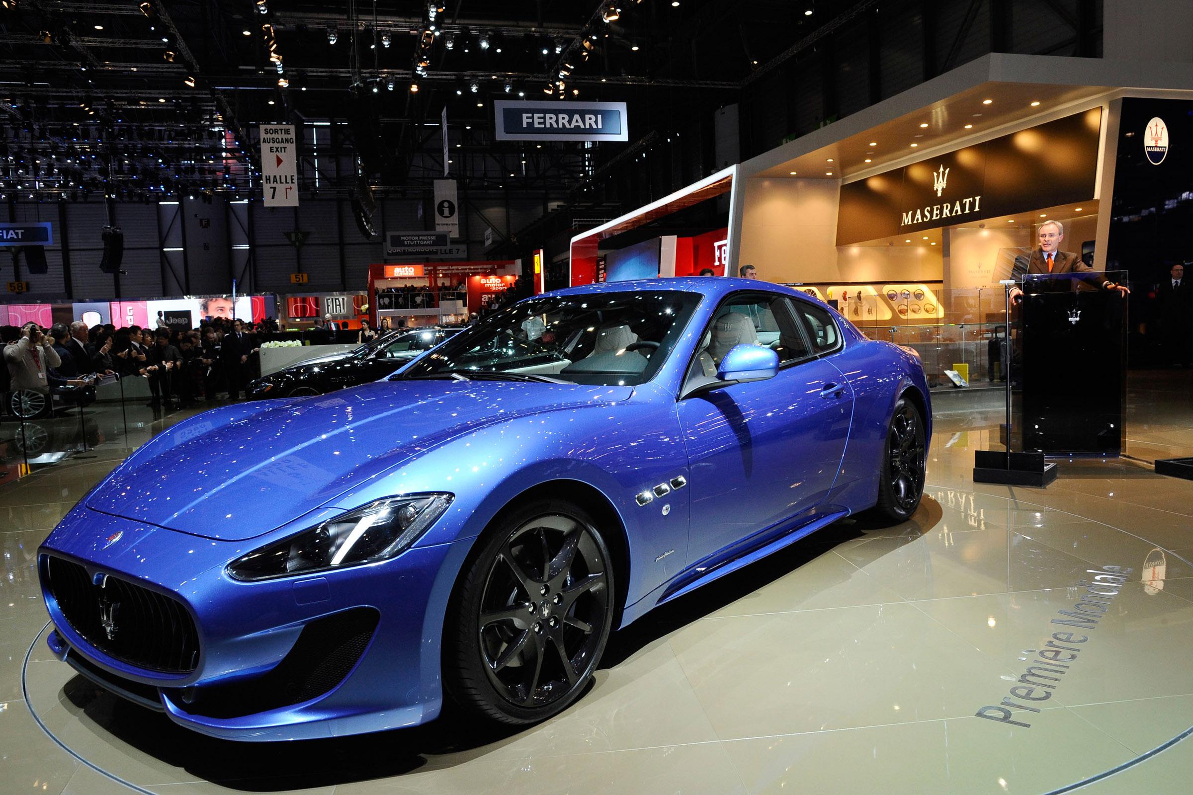 2012 Geneva Motor Show Maserati Granturismo Sport