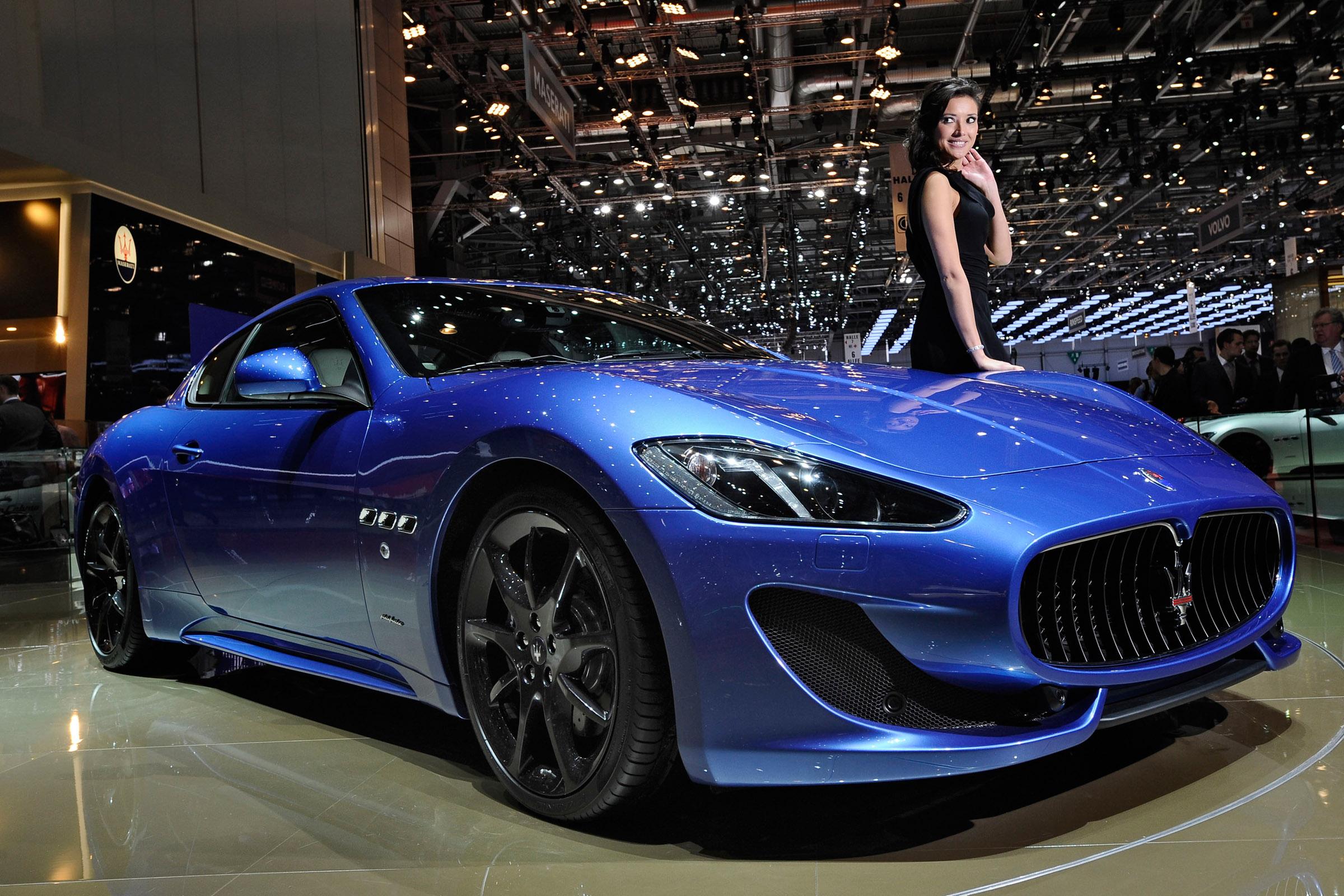 Range Rover Interior >> 2012 Geneva Motor Show: Maserati GranTurismo Sport