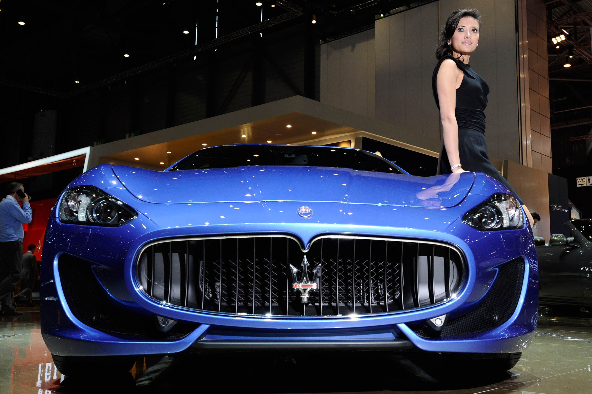 2012 Geneva Motor Show: Maserati GranTurismo Sport