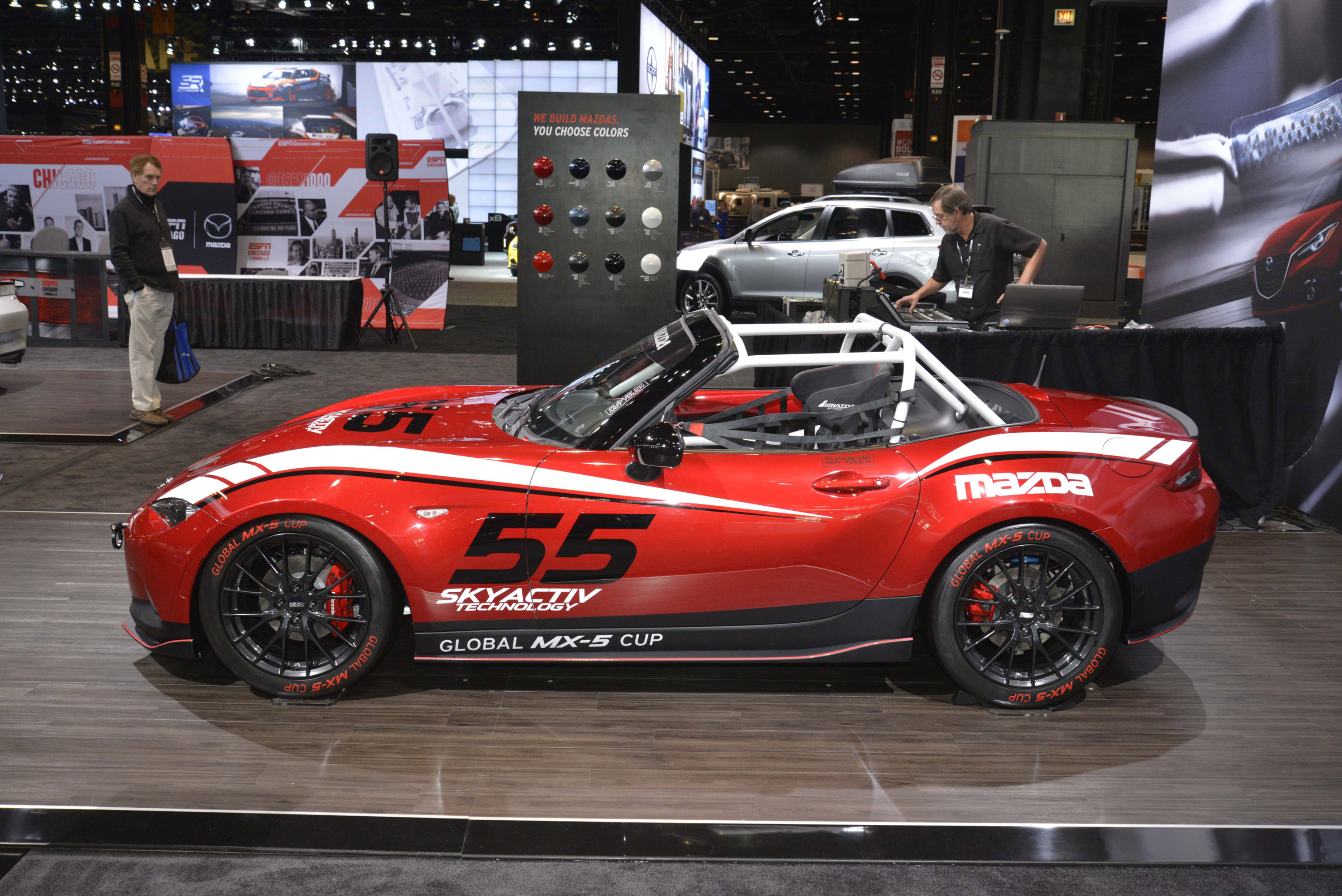 Mazda 2016 Global Mx 5 Cup Race Car Chicago 2015 Picture 117482