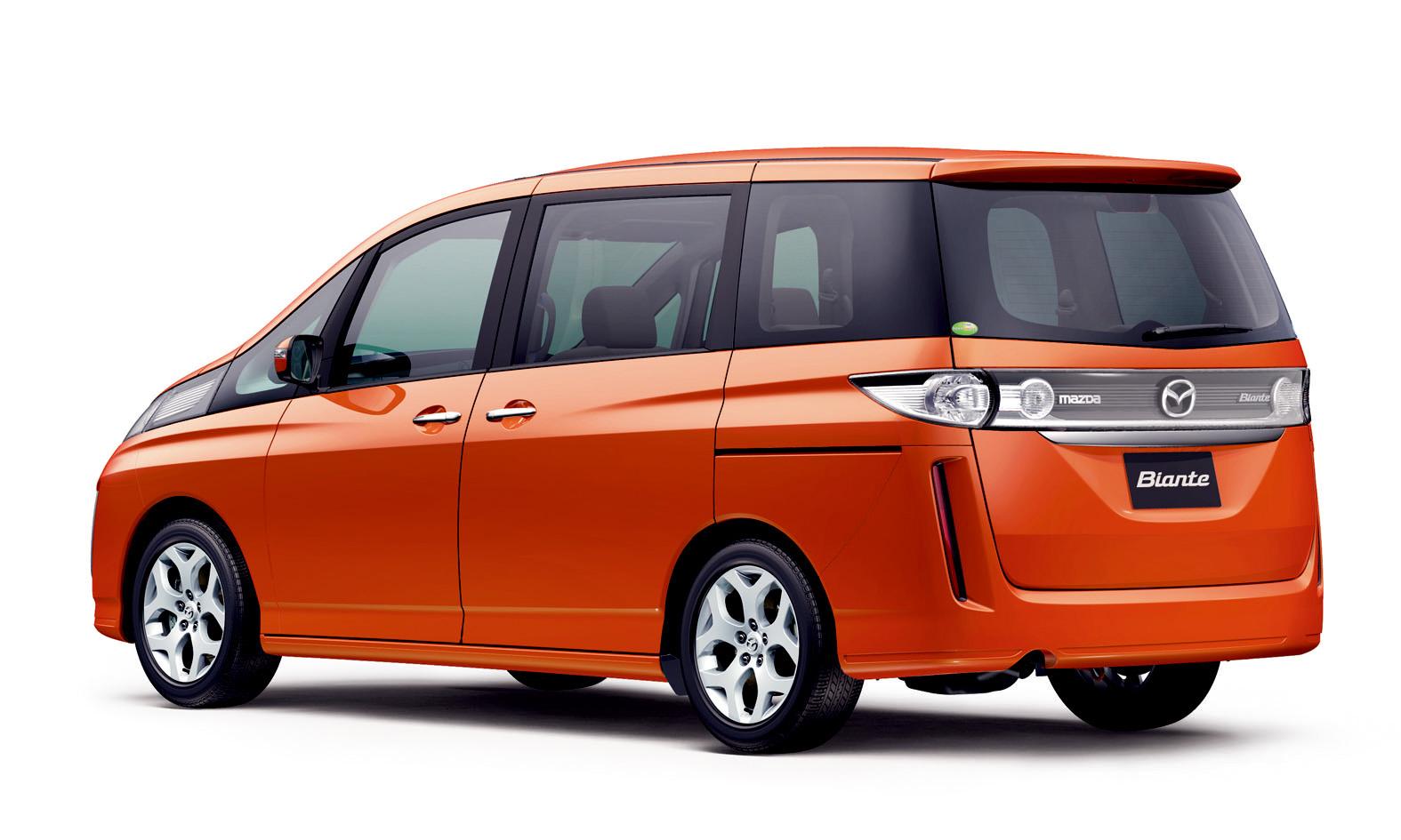 New Mazda Biante Minivan Sales Take Off In Japan