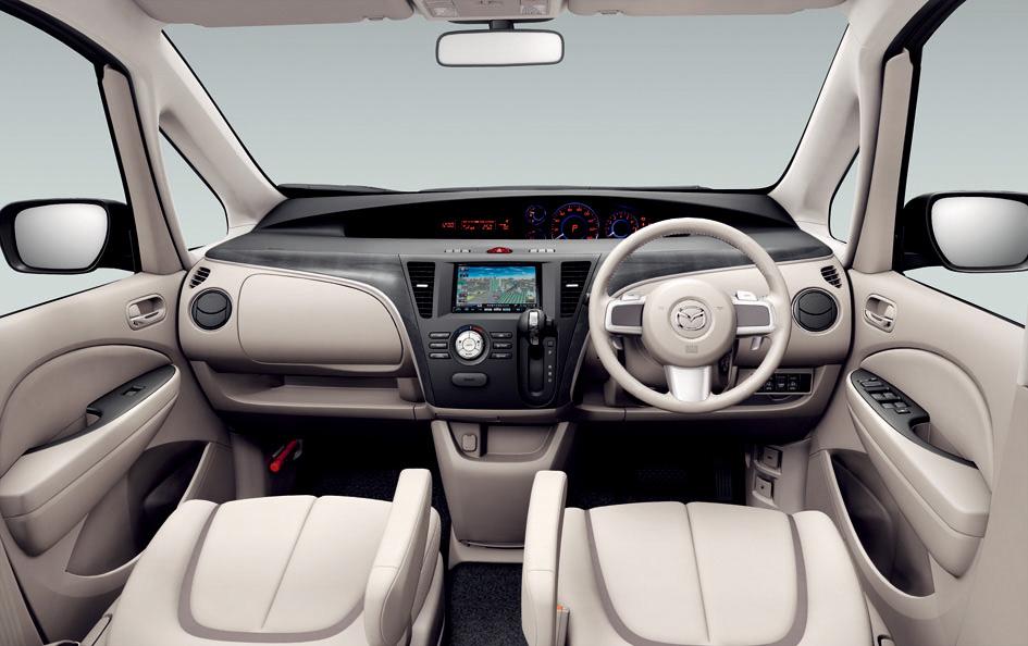 Mazda Releases All New Biante Minivan