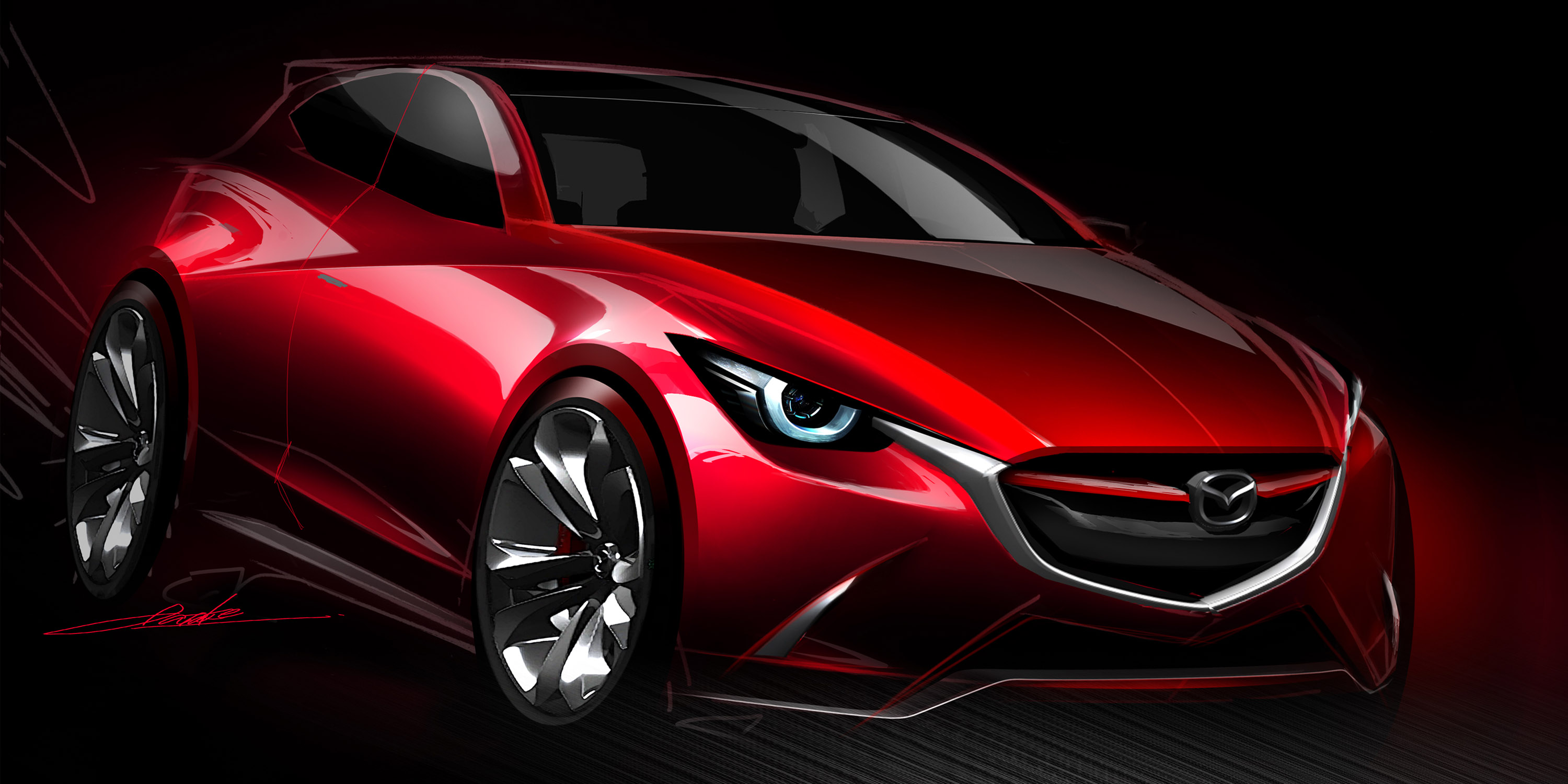 At Last: Mazda HAZUMI Concept Officially Unveiled!