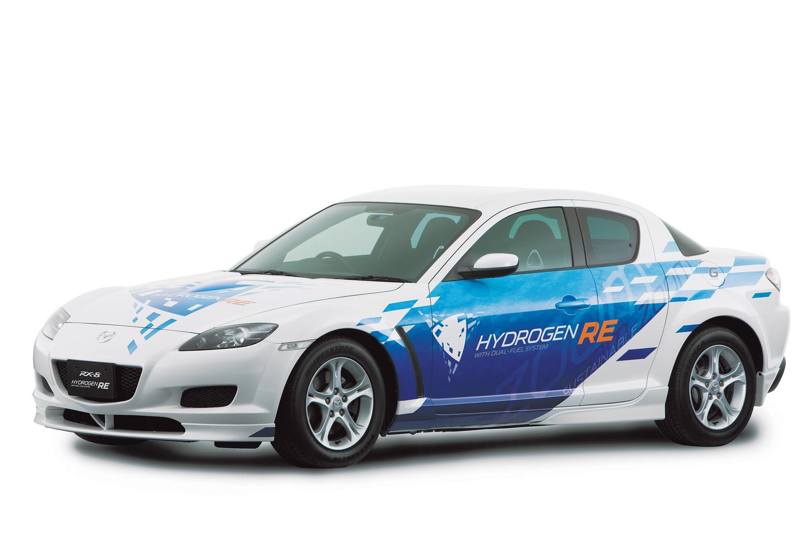 Mazda RX 8 Hydrogen RE & Mazda Premacy Hydrogen RE Hybrid - Picture ...