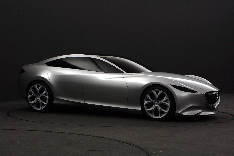 Mazda Shinari Concept at the 2010 Paris Motor Show