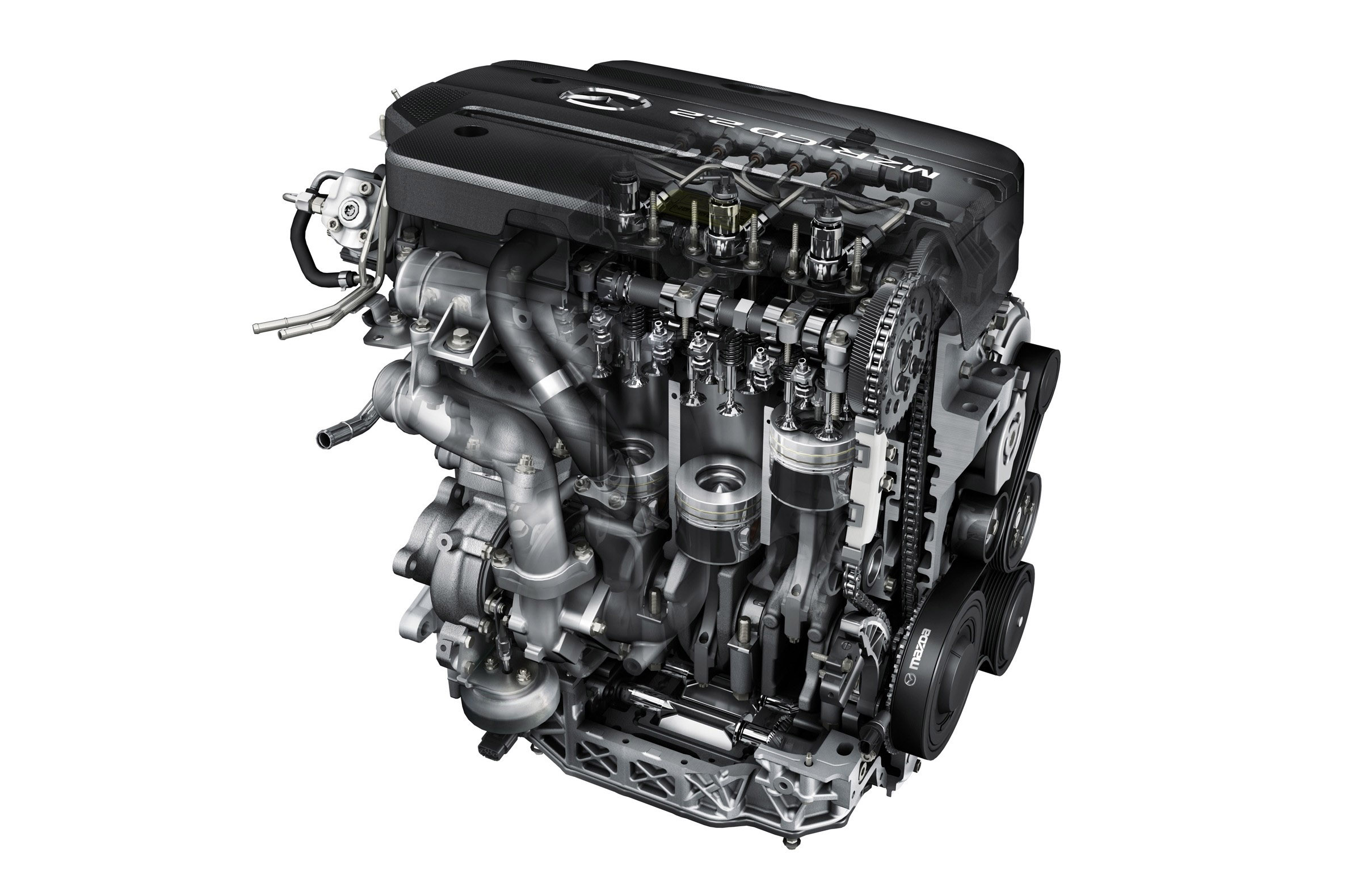 Mazda6 2.2-litre Diesel Engine - Picture 32238