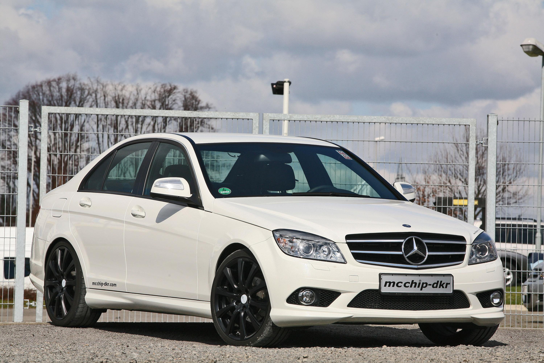 Mcchip dkr mercedes c class white series for Mercedes benz c class white
