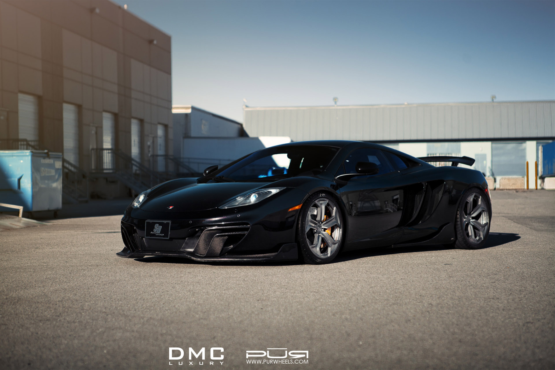 Showcasing The Mclaren Mp4 12c By Dmc Luxury And Pur Wheels