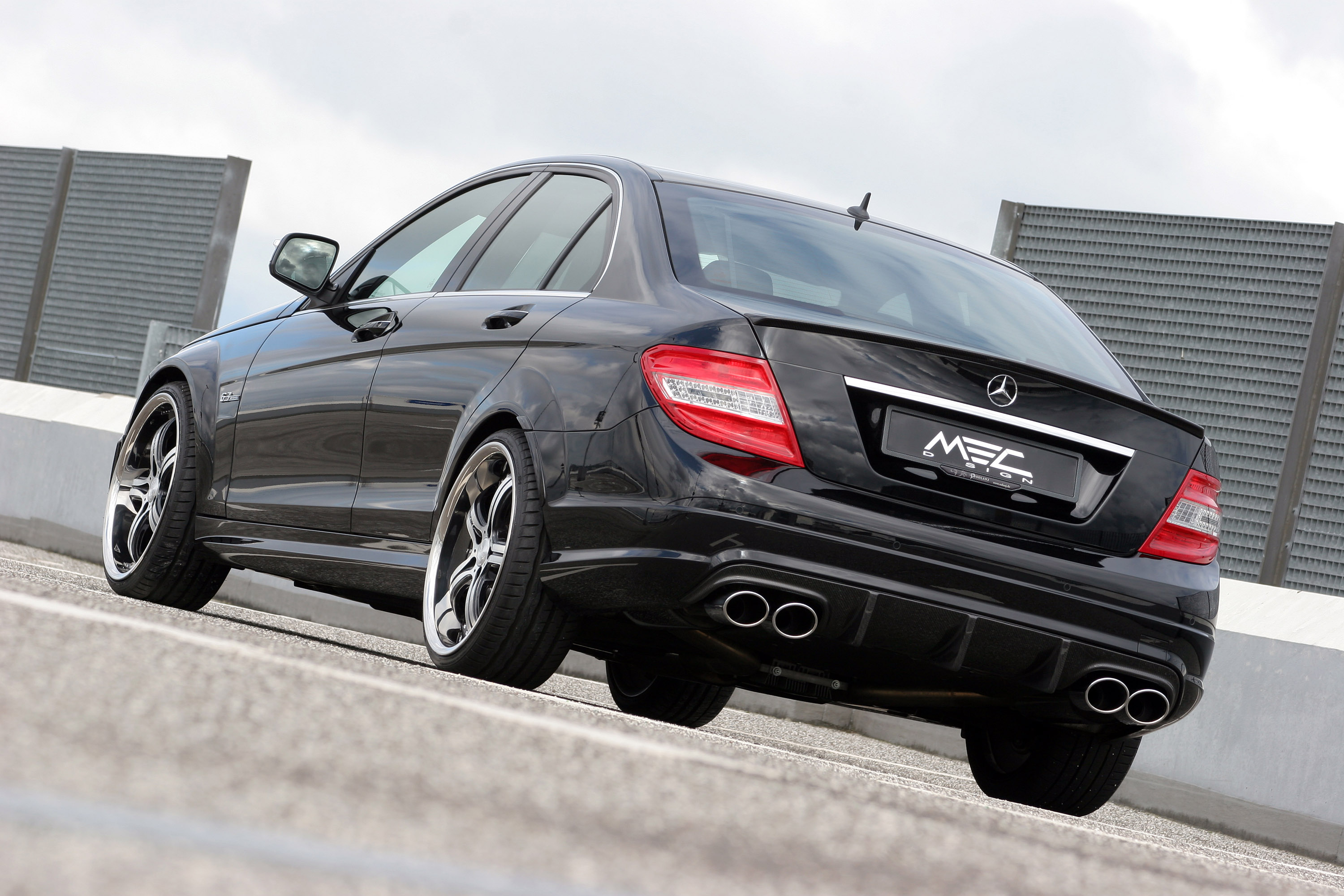Mec design c63 amg pure performance athlete for Mercedes benz c63 amg 2010
