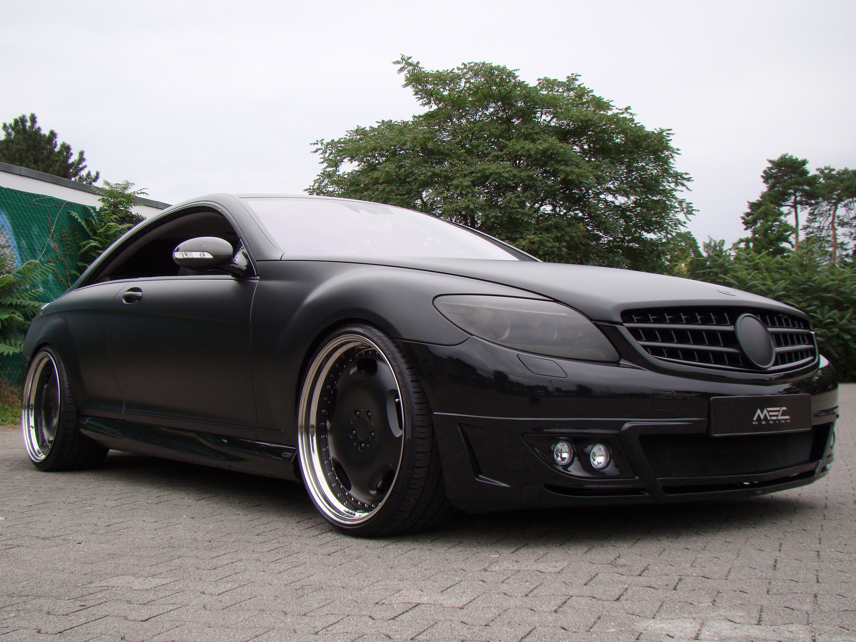 Mec design mercedes benz cl for Benz mercedes suv