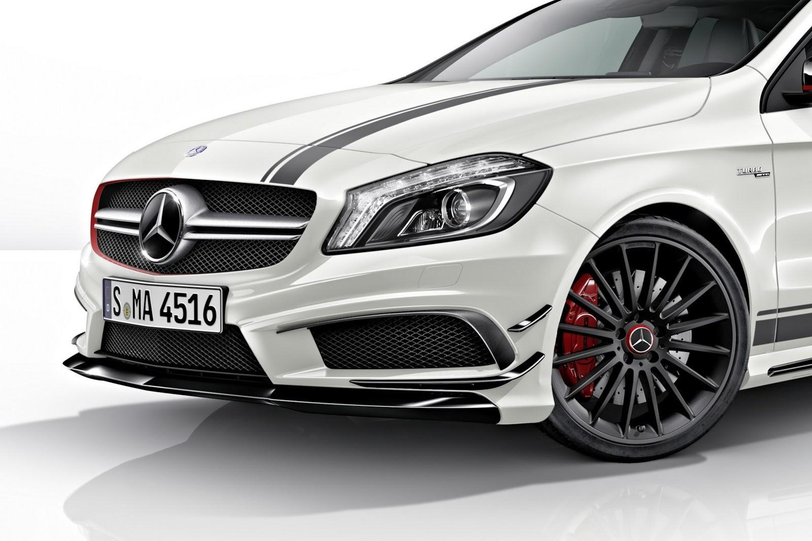 mercedes benz a45 amg edition one. Black Bedroom Furniture Sets. Home Design Ideas