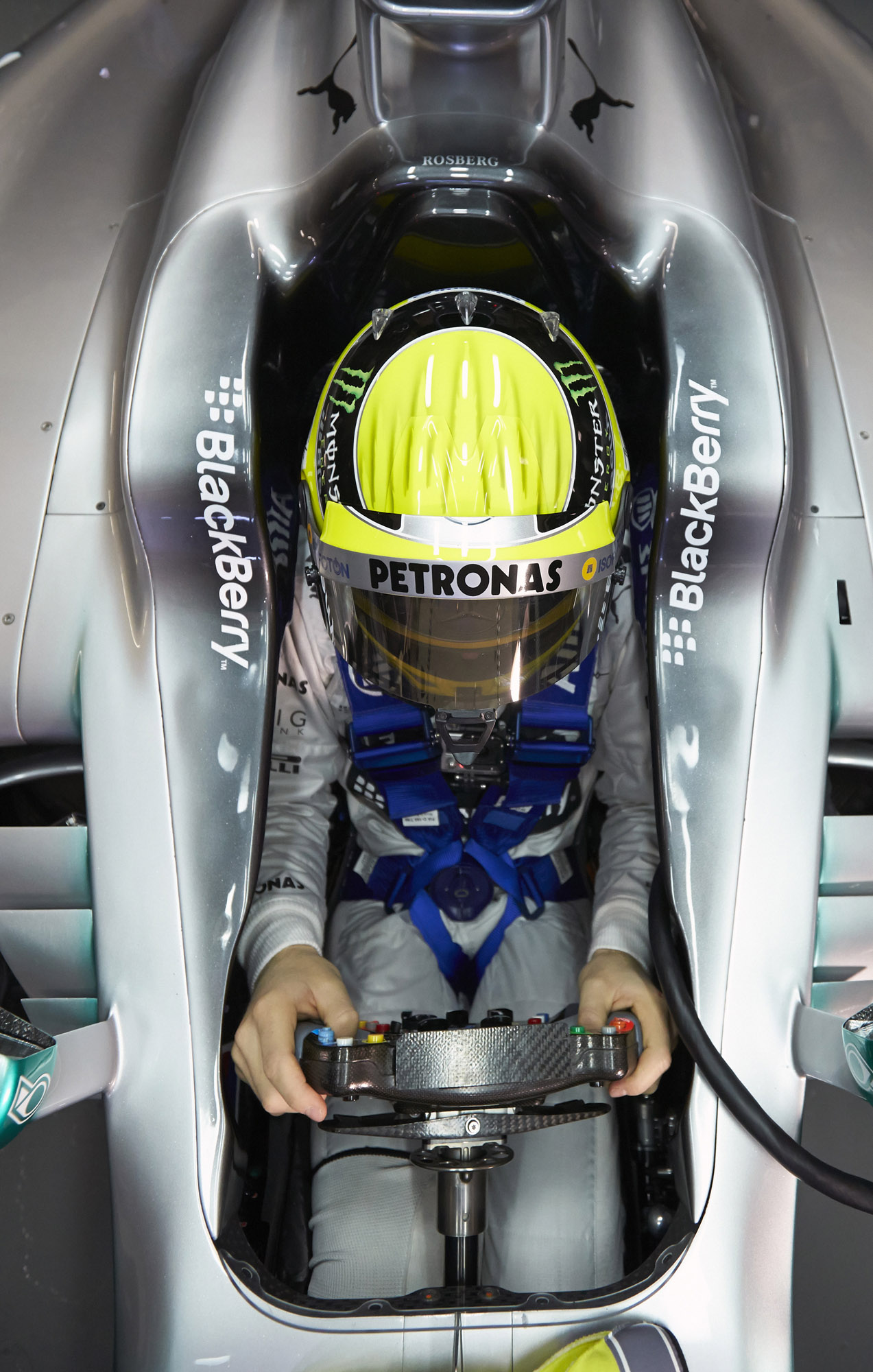 Mercedes Benz Amg Petronas F1w04 Silver Arrow Revealed Video