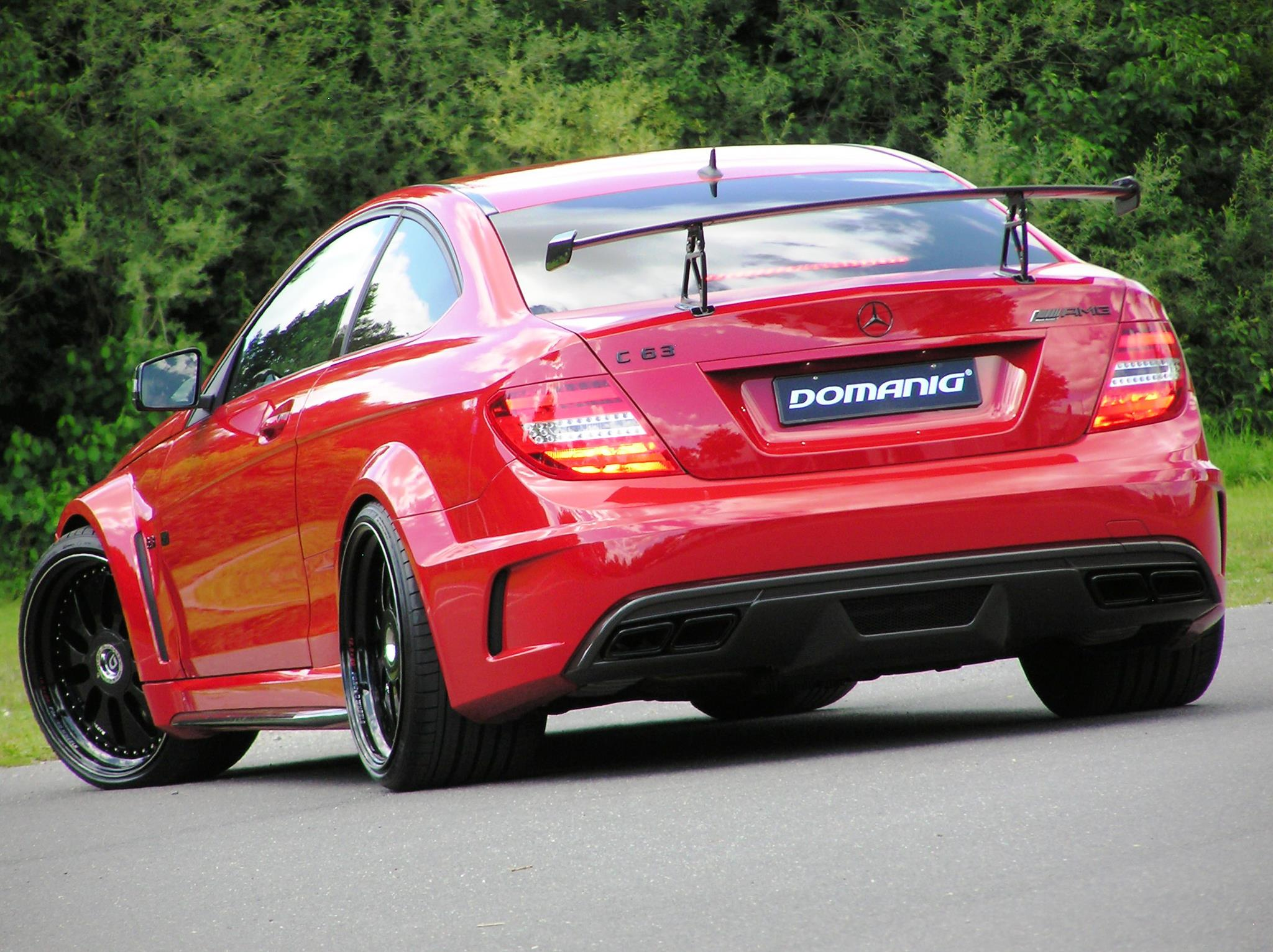 Mercedes benz c63 amg black series by domanig for C series mercedes benz