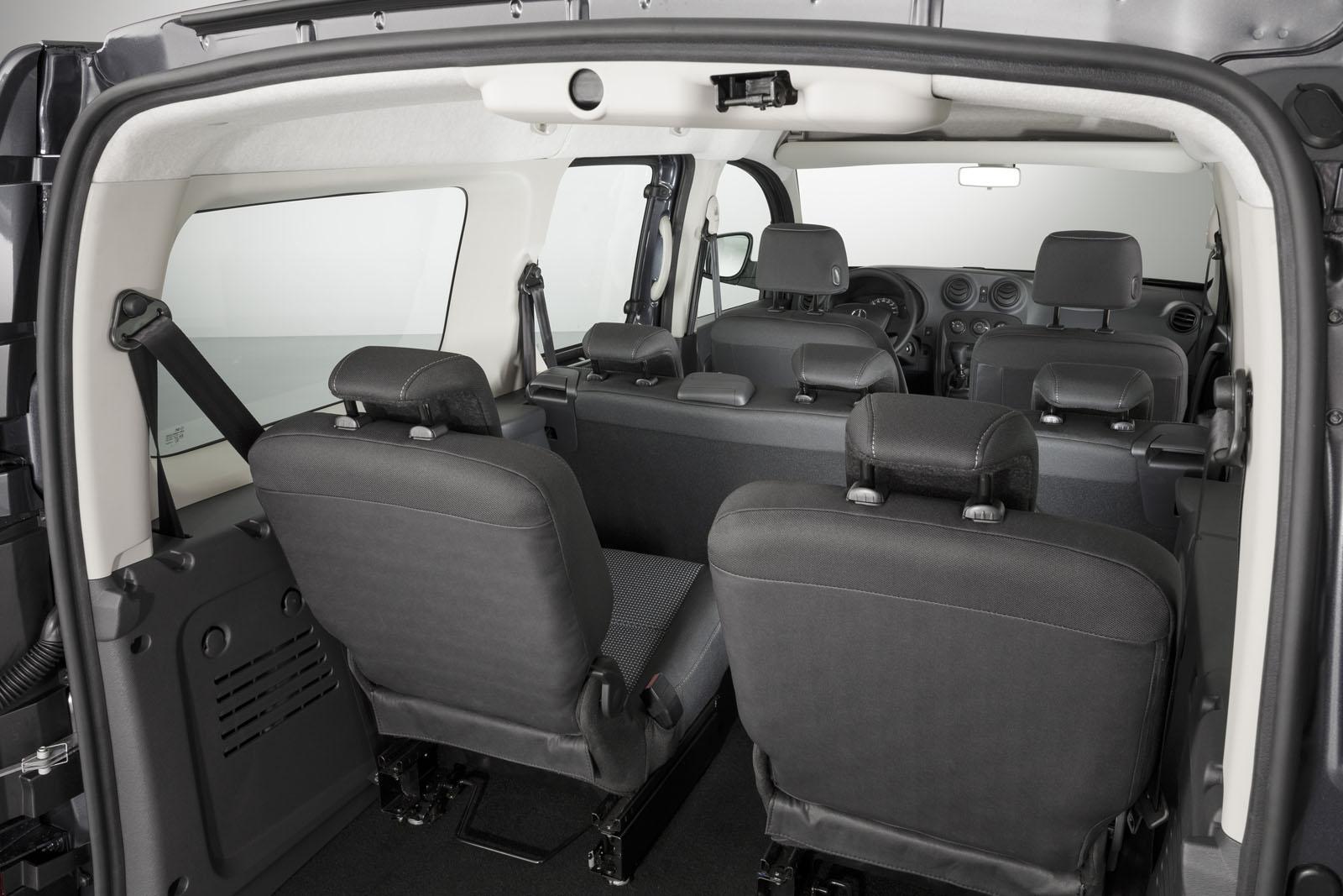 Citan Extra Long.Mercedes Benz Citan Extra Long Wheelbase Picture 102228