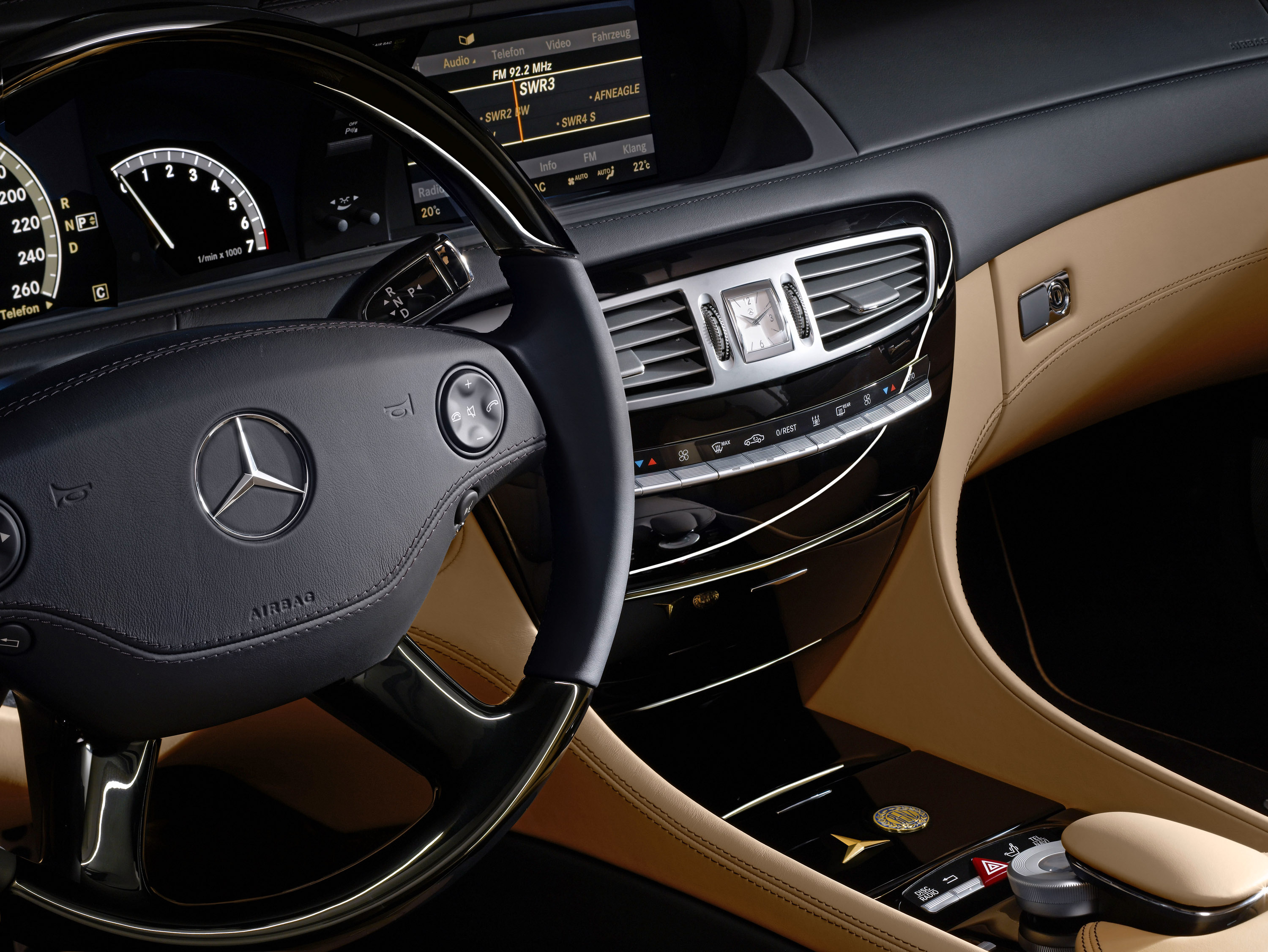 Car Brand Symbols >> Mercedes-Benz Special CL 500 model - 100 years Anniversary edition with exclusive appointments