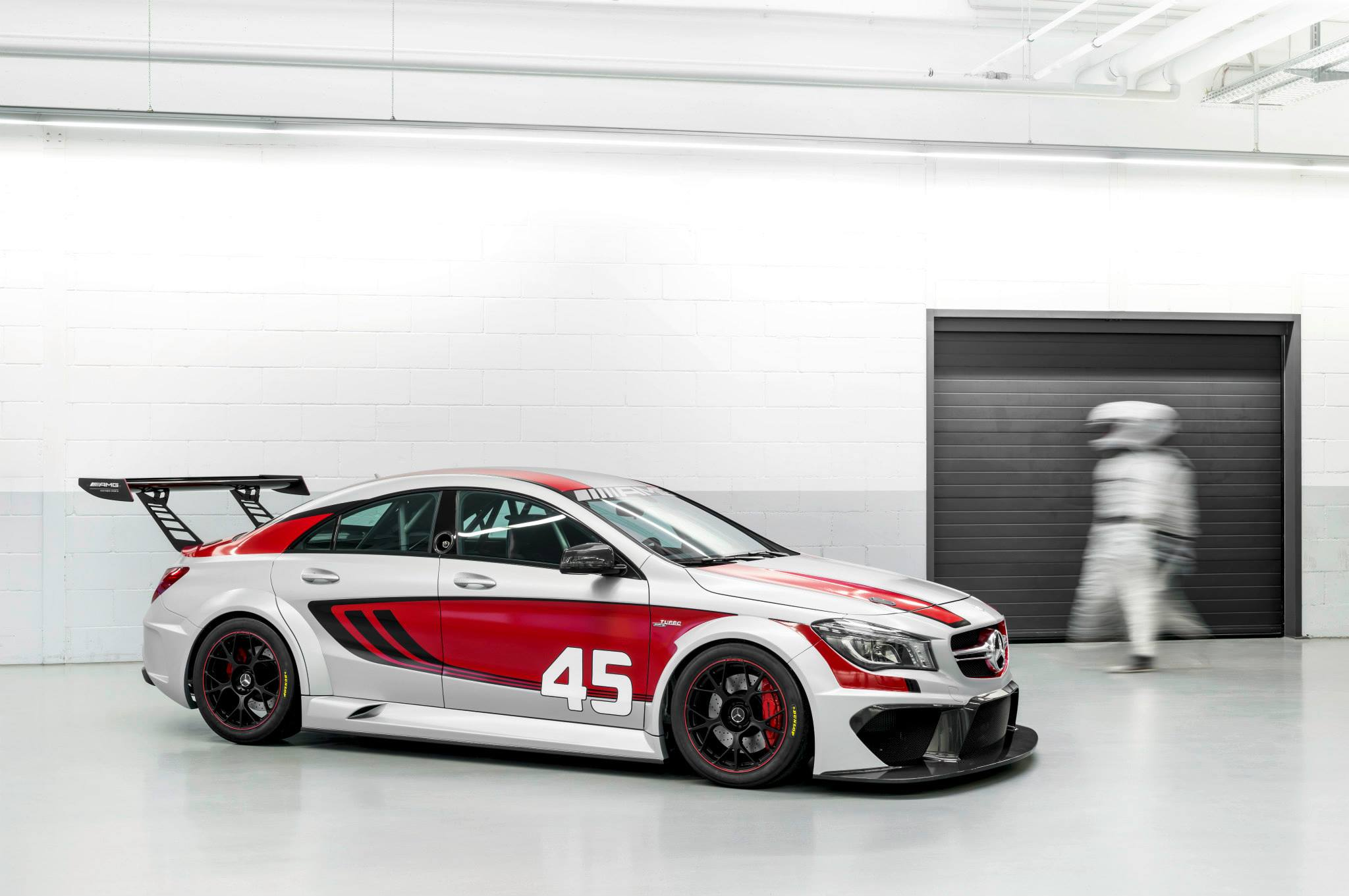 Mercedes benz cla 45 amg racing series picture 88811 for Mercedes benz race
