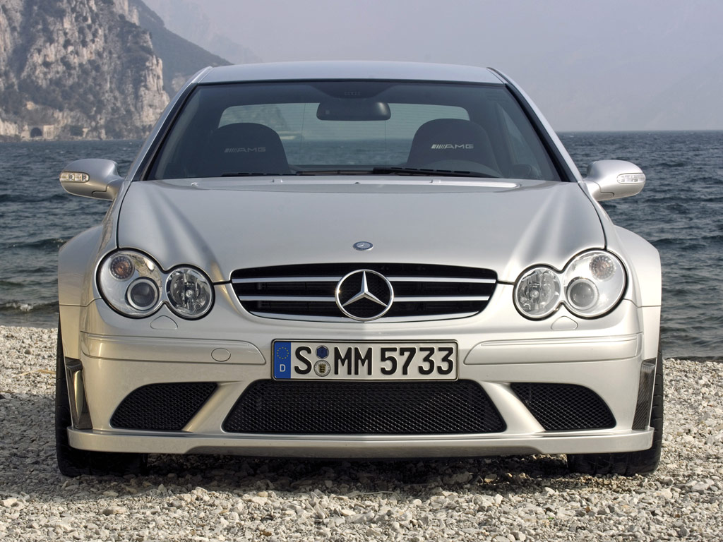 Mercedes benz clk black series c209 drift and donuts video for A series mercedes benz