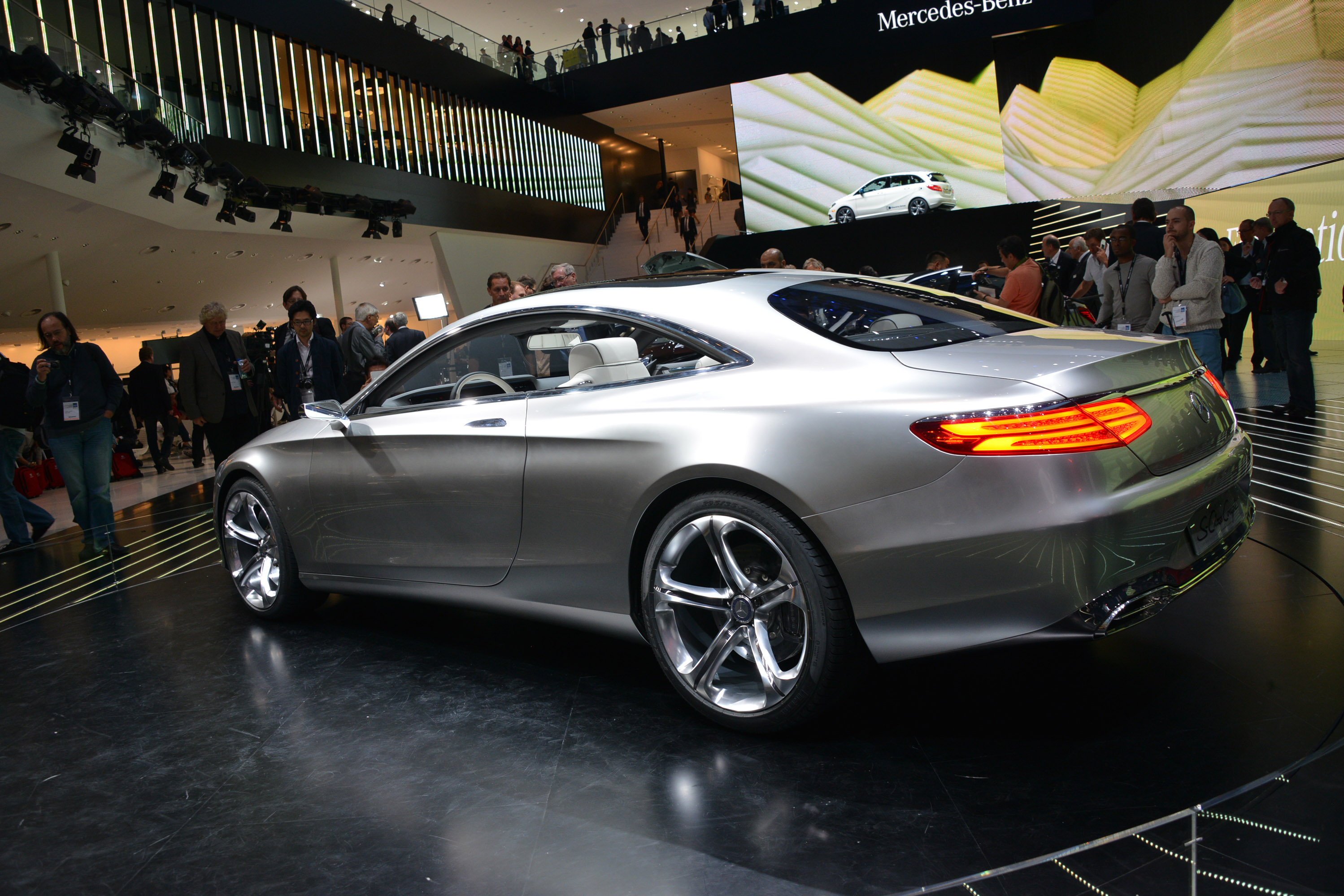 mercedes benz concept s class coupe frankfurt 2013 picture 89262. Black Bedroom Furniture Sets. Home Design Ideas