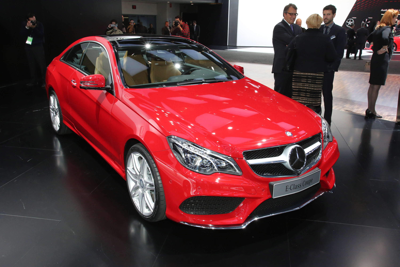 Mercedes Benz 2013 E Class Red