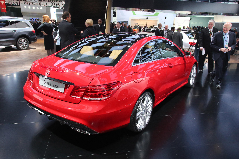 MercedesBenz EClass Coupe Detroit 2013  HD Pictures