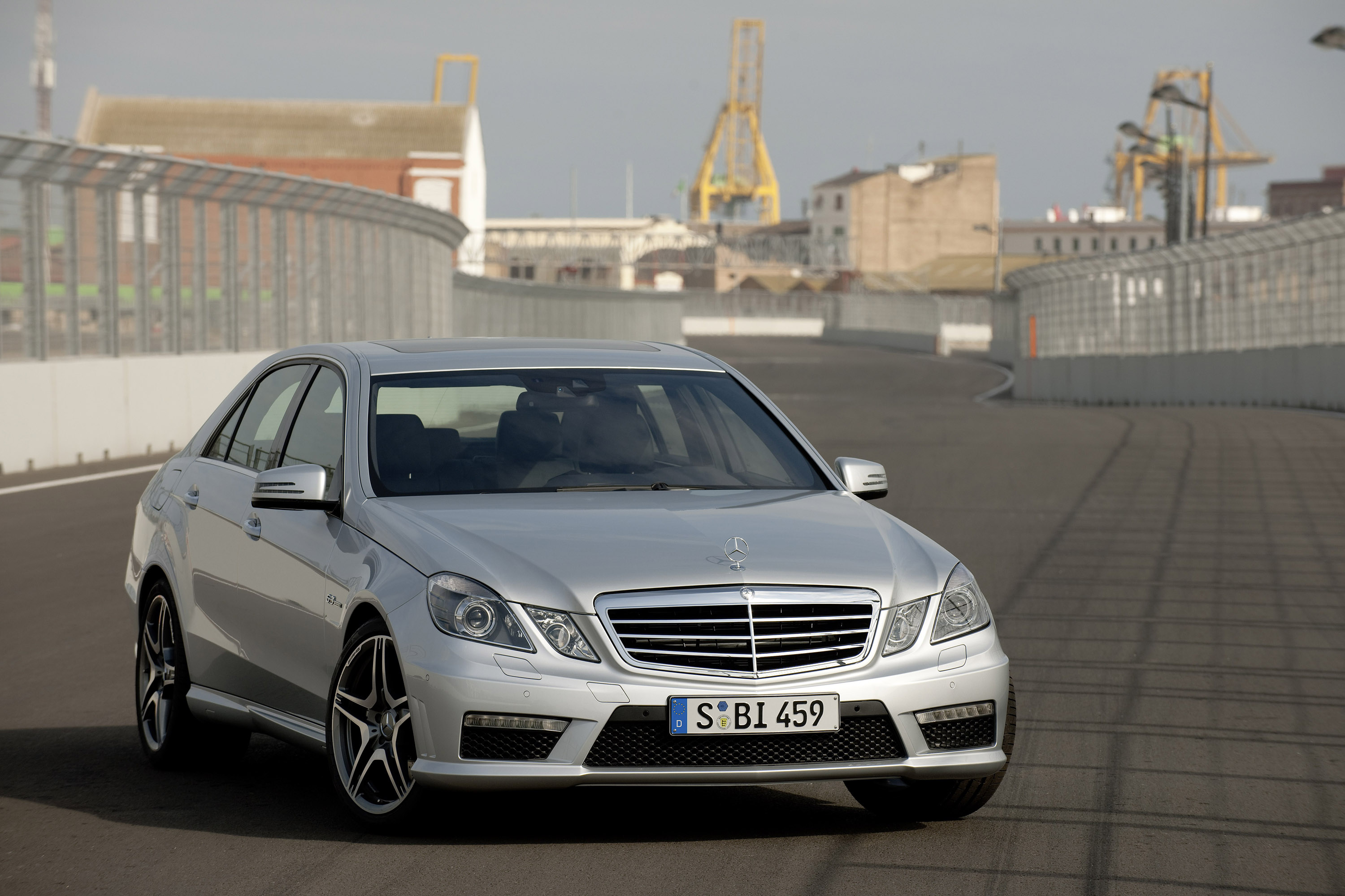 Mercedes Benz E63 AMG Saloon Picture