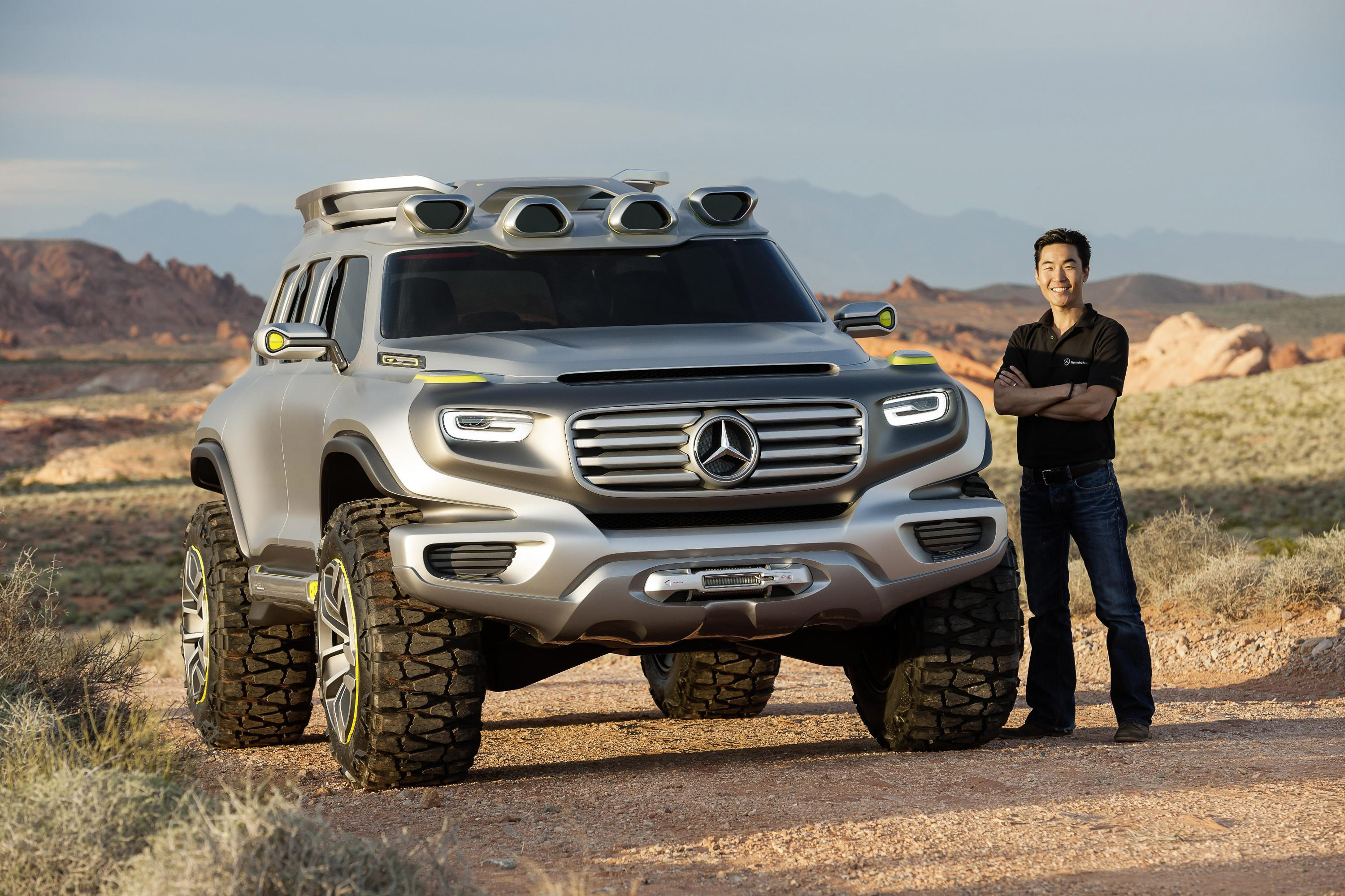 Mercedes Benz Ener G Force Concept Picture 76869