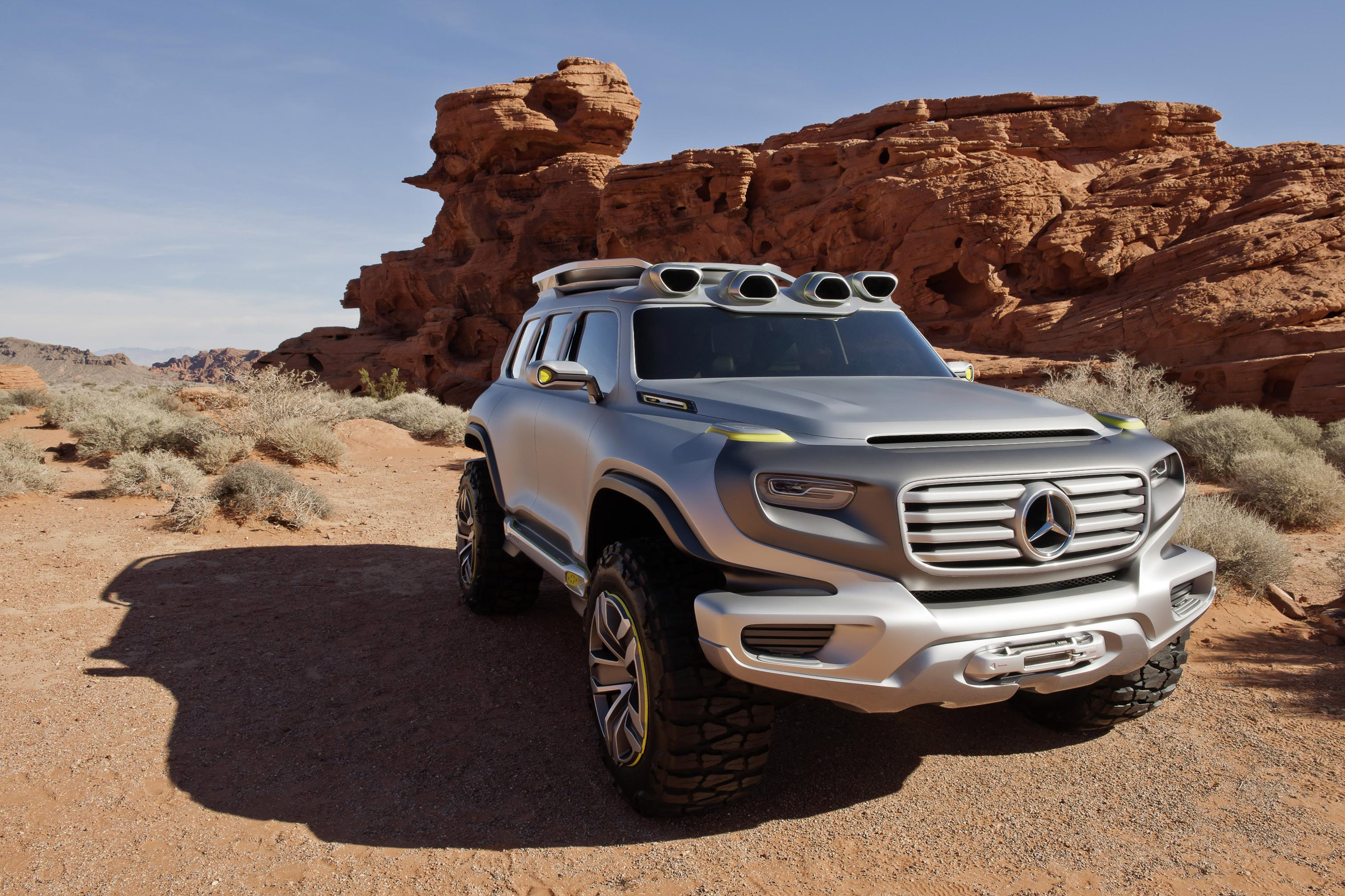 Mercedes Benz Ener G Force Concept Takes Part In Los
